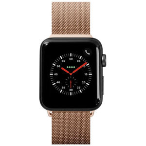 LAUT Steel Loop pásek na Apple Watch 38/40 mm zlatý