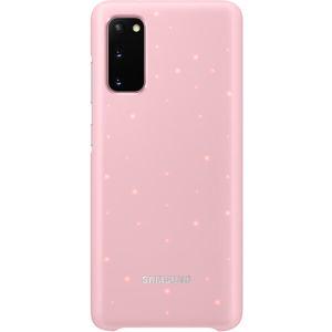 Samsung EF-KG985CP zadní kryt s LED diodami Galaxy S20+ růžový