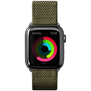 LAUT Technical 2.0 nylonový řemínek na Apple Watch 42/44 mm olivový