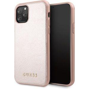 Guess Iridescent GUHCN61IGLRG kryt iPhone 11 růžový