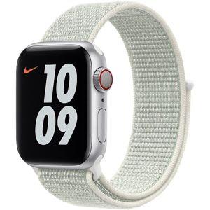 Apple Watch provlékací sportovní řemínek Nike 44/42mm spruce aura